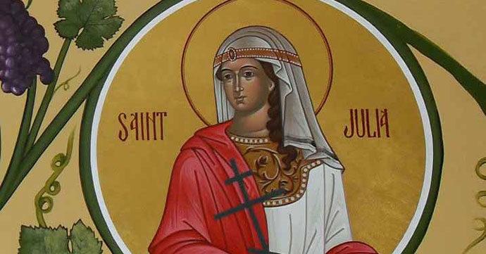 മേയ് 23: കോര്സിക്കായിലെ വിശുദ്ധ ജൂലിയ