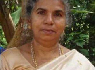 അന്നക്കുട്ടി (74), കുഴിക്കോട്ടായിൽ, ഏറ്റുമാനൂർ