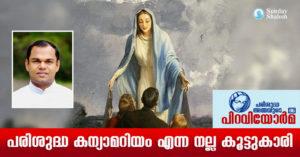 പരിശുദ്ധ കന്യാമറിയം എന്ന നല്ല കൂട്ടുകാരി