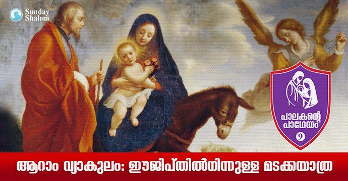 പാലകന്റെ പാഥേയം 9- ആറാം വ്യാകുലം:ഈജിപ്തില്നിന്നുള്ള മടക്കയാത്ര